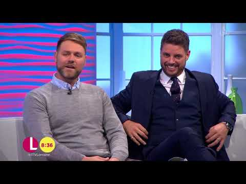 Brian McFadden and Keith Duffy Want Lorraine to Be on Later | Lorraine