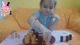 Обзор игры ГОББЛЕТ (Gobblet) на двоих. Настольные логические игры для детей от GIGAMIC.