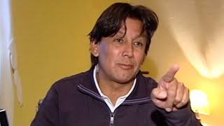 Eduardo Pimentel, extrovertido, directo y amante de la pelota