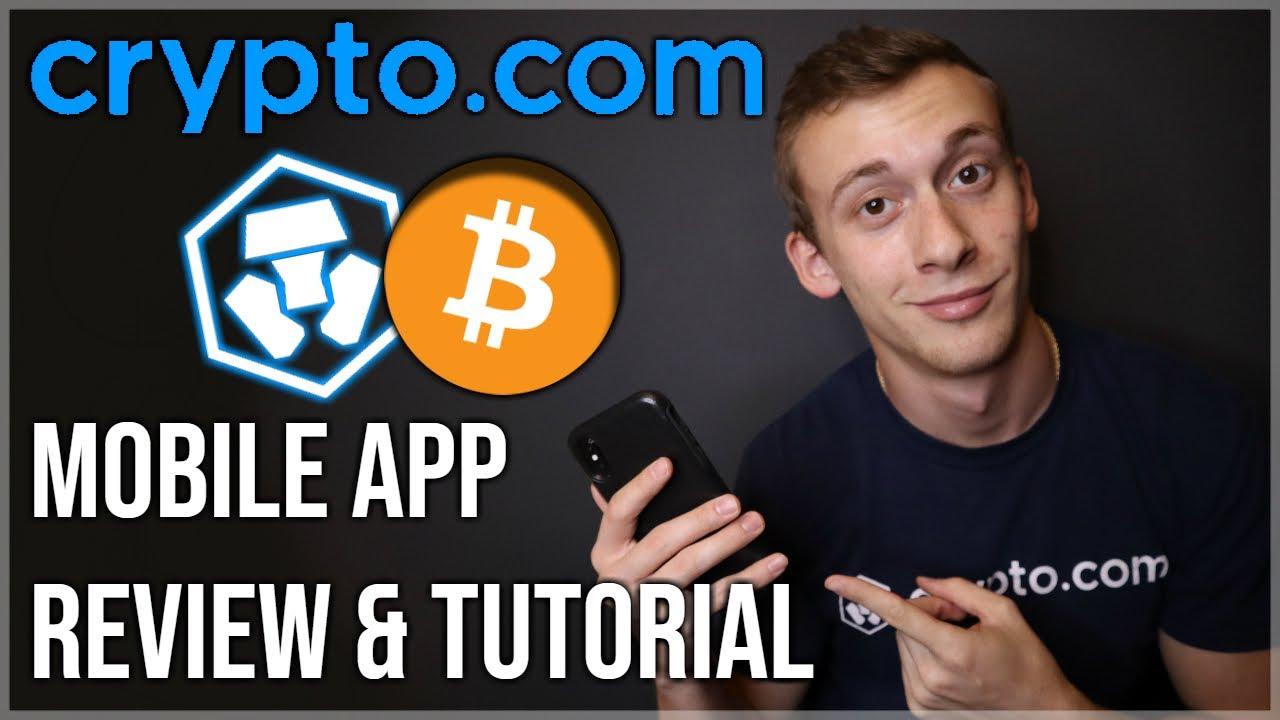 Crypto.com Review & Mobile App Tutorial!  Beginners Guide 2020 $CRO $MCO