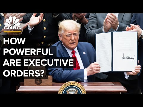 Why Executive Orders Can't Save The U.S. Economy
