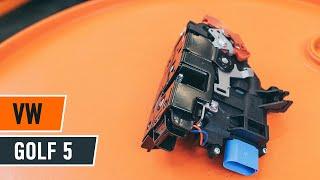 Hvordan bytte Holder, stabilisatorlagring VW GOLF V (1K1) - online gratis video