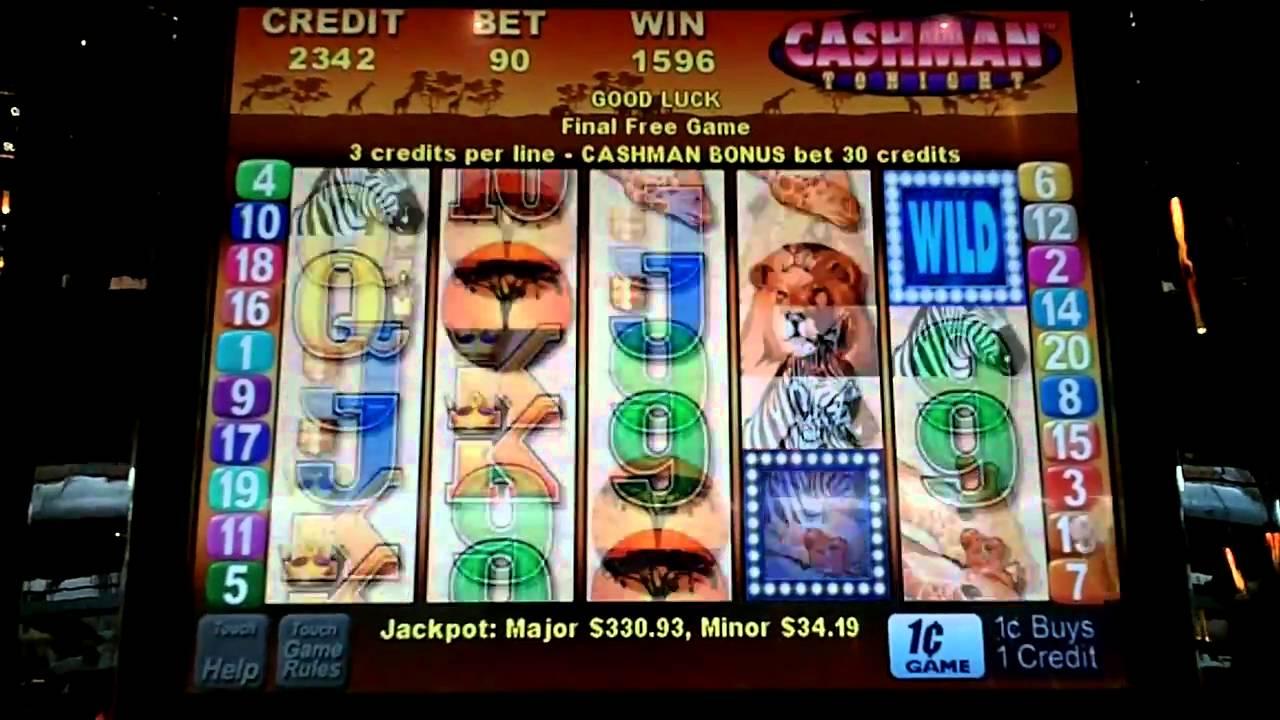 Mr cashman slot machine free online
