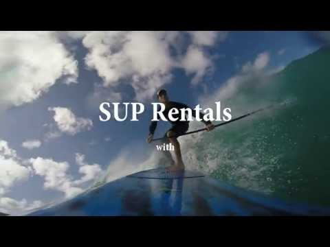 Blue Planet Surf How To: SUP Rentals