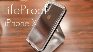 LifeProof NEXT Case - Dust, Dirt and Snow Protection! -  iPhone X - Hands On Review