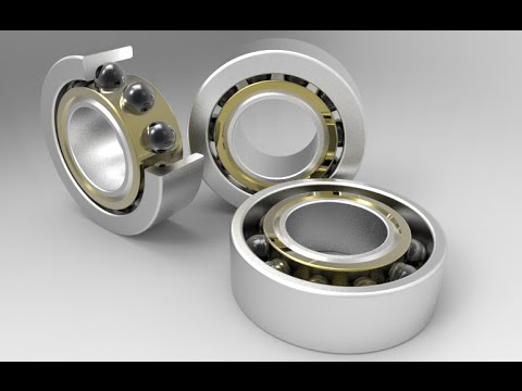 3D modelling Ball bearing in AutoCAD
