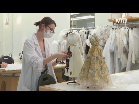 Модный дом Dior создал мини-копии новых нарядов