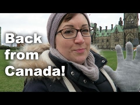Back from Canada and it snowed! Along The Lanes: Ep 10 (Knitting and crafts podcast)