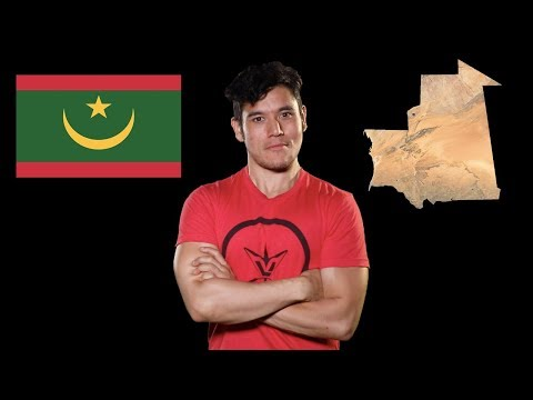 Geography Now! MAURITANIA
