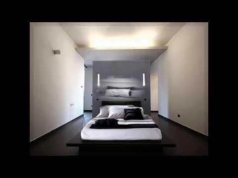 Minimalistischen Schlafzimmer