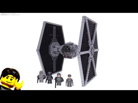 LEGO Star Wars (Solo) Imperial TIE Fighter review! 75211