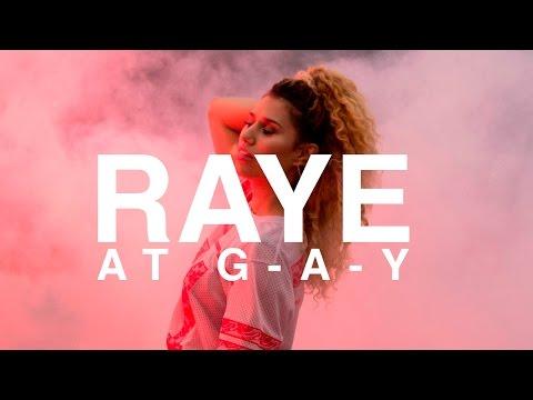 Raye at G-A-Y