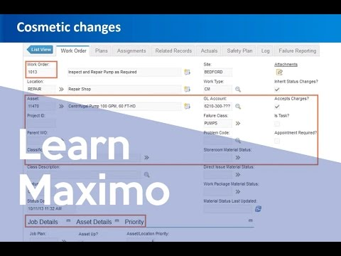 Maximo 7.6 New Features