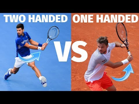 Tennis Backhand - One Handed vs Two Handed Backhand