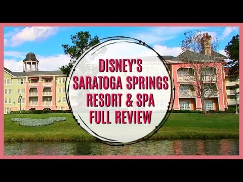 DISNEY'S SARATOGA SPRINGS RESORT & SPA | Full REVIEW | Should I stay here?