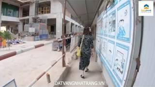 Cất nóc dự án HUD BUILDING   Căn Hộ Nha Trang   Đất Vàng Nha Trang