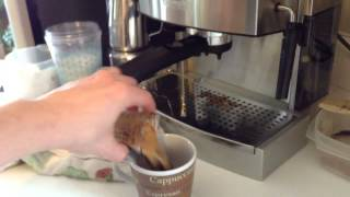 DeLonghi EC702 And The Perfect Iced Latte