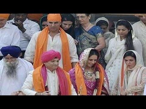 Akshay Kumar's sister Alka Bhatia's WEDDING