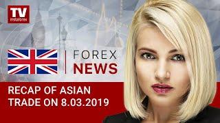 InstaForex tv news: 08.03.2019: Markets waiting for jobs data from US (SHANGHAI, USD, AUD, JPY, EUR)