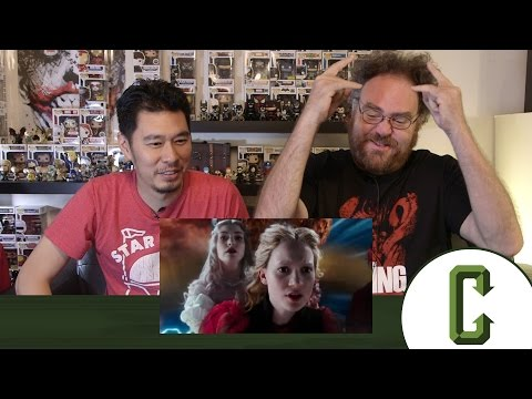 Alice In Wonderland: Through The Looking Glass Trailer Reaction and Review