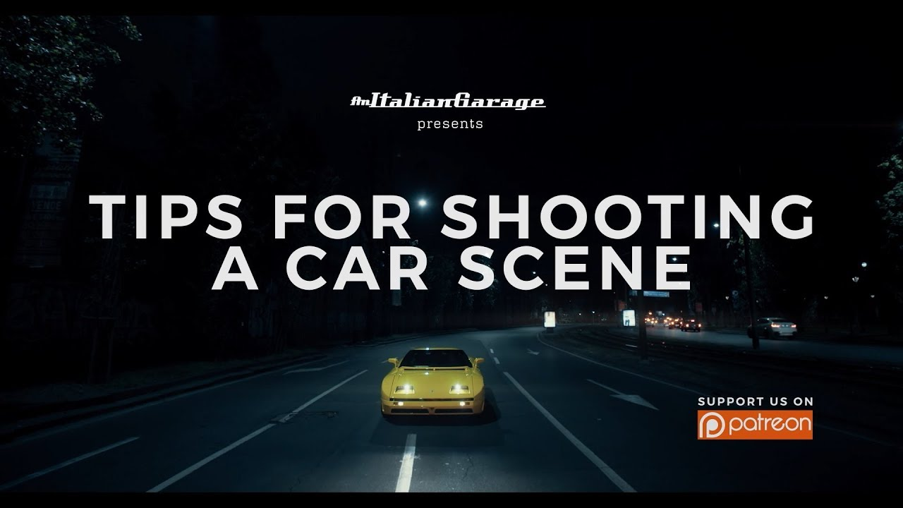 Tutorial: Tips for Shooting a Car Scene - An Italian Garage