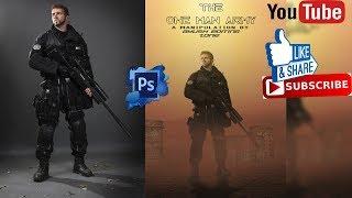 Bir Adam Ordu fotoğraf manipülasyon oluşturmak mı ayush Düzenleme Bölge dijital Tarafından Toturial Photoshop ll ll