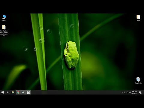 How to add water drop effect on cursor in Windows 10