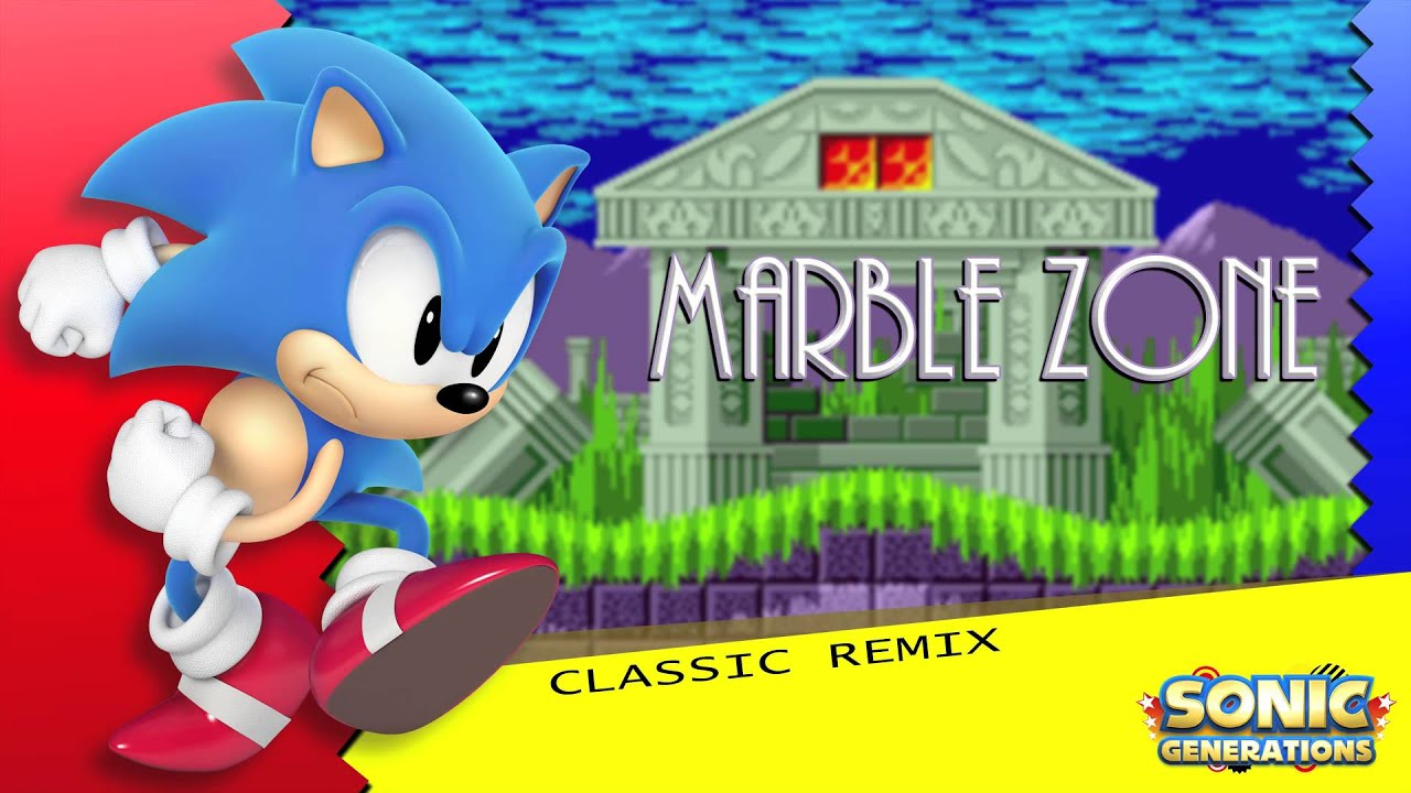 Marble Zone Classic Sonic Generations Remix Youtube