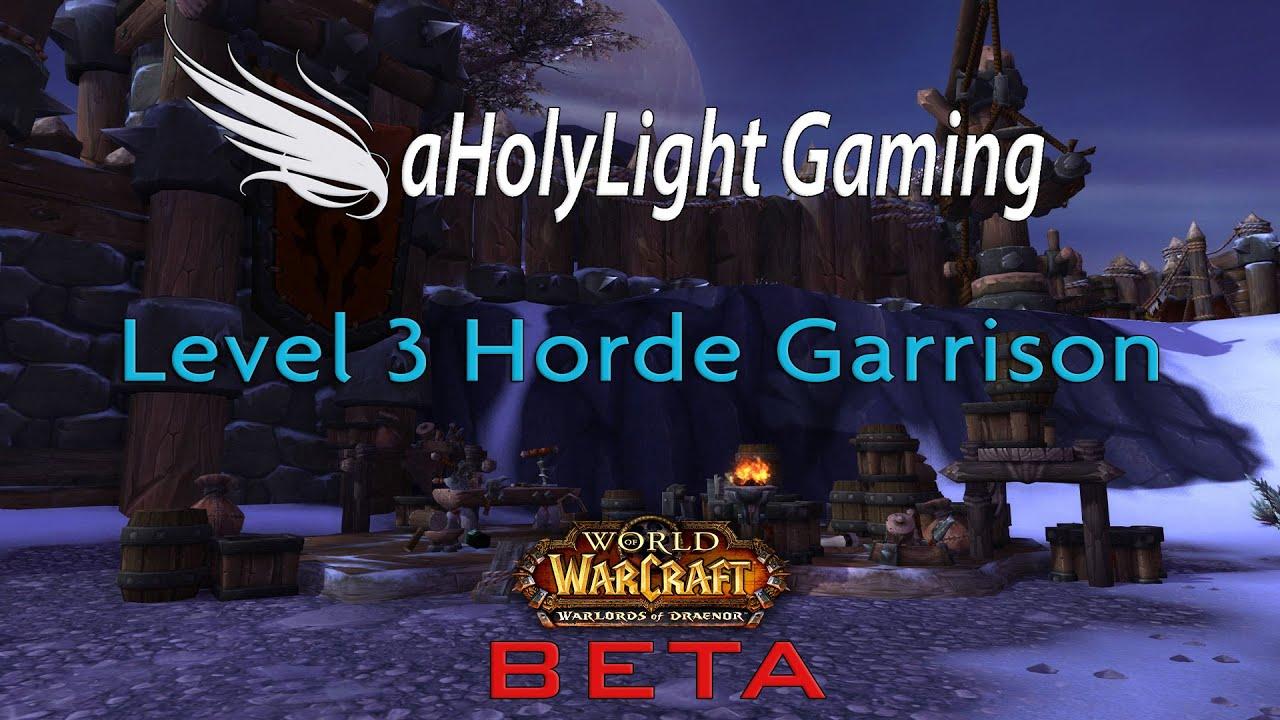 Wod beta level 3 garrison walkthrough youtube wod beta level 3 garrison walkthrough malvernweather Images