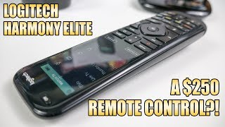 Logitech Harmony Elite review - a $250 remote control?!
