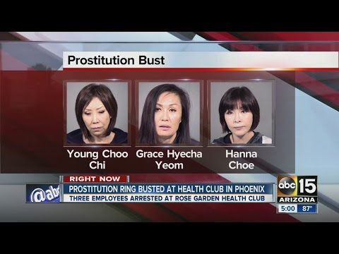 Prostitution ring busted at health club in Phoenix