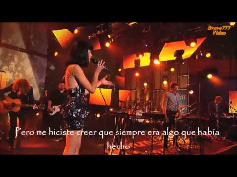 Somebody I Used To Know/Gotye Live Performance/subtitulos Español