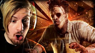 BEING HUNTED BY LEATHERFACE!? (Texas Chainsaw Horror Game) - (3RG)