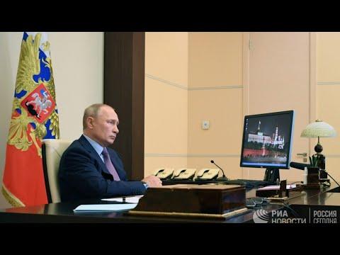 Путин на совещании по экологической ситуации в Иркутской области