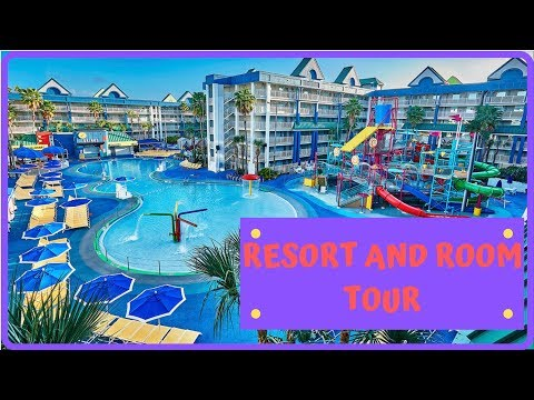 HOLIDAY INN RESORT ORLANDO SUITES WATERPARK- RESORT AND ROOM TOUR