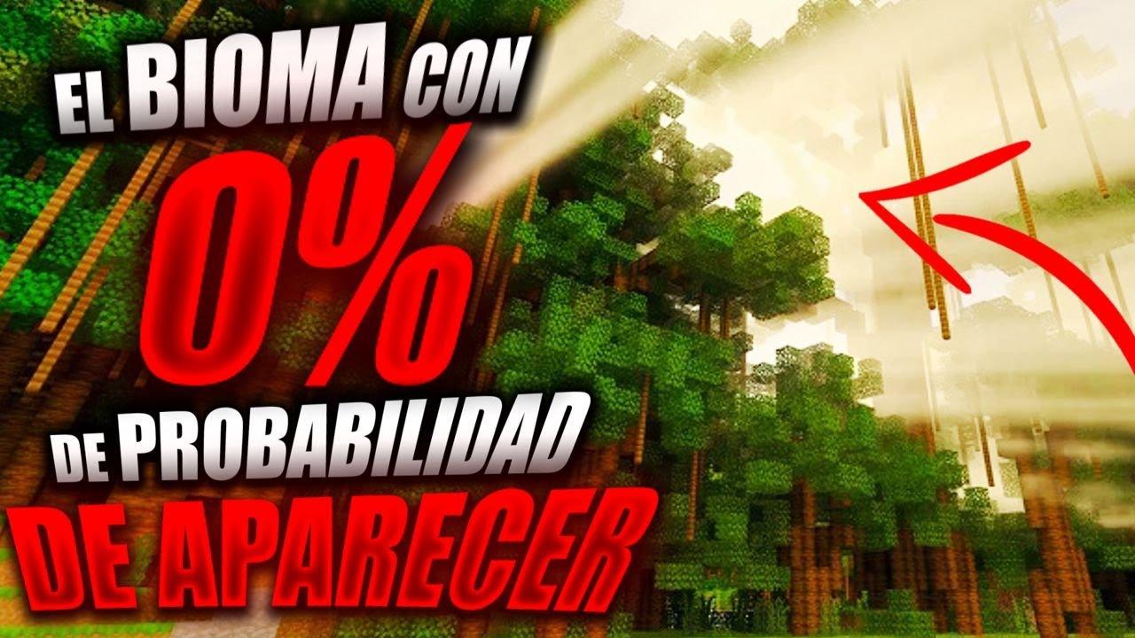 El Bioma con 0% DE PROBABILIDAD de aparecer (TE MUESTRO COMO ENCONTRARLO)