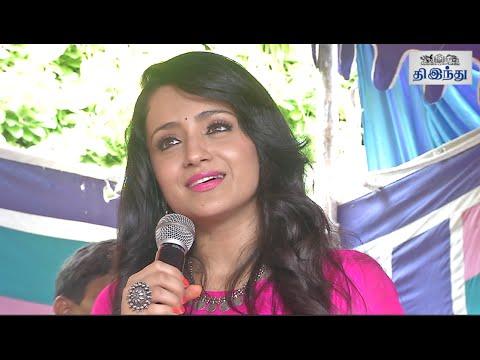 I'm Not Competing with anyone: Trisha | Nayagi Movie Launch | Tamil The Hindu