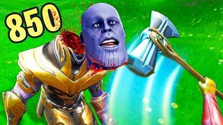 HOW TO *ONE SHOT* THANOS..!!! | Fortnite Funny and Best Moments Ep.464 (Fortnite Battle Royale)
