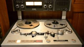 Studer A80 RC MkII 2 Tracks 15ips 0db at 500nWb/m