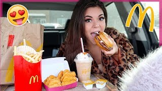 McDonalds Mukbang! *my new fav item* + bad girl school stories