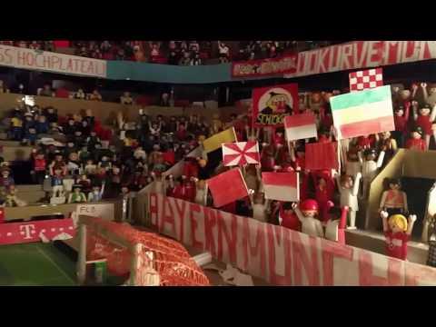 FC Bayern - Borussia Dortmund; Allianz Arena Stimmung