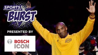Sports Burst: Sports World Reacts To The Passing of Kobe Bryant - Presented by Bosch ICON