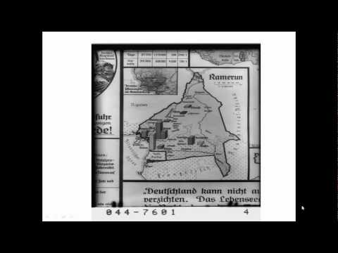 Maps of Cameroon in Colonial Context