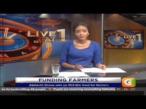 AlphaJiri Group sets up Sh 3.5 billion  fund for farmers