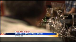 Brandon Roth Live Previewing Downtown Dining Week 2/16/15