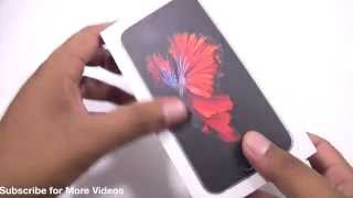 iPhone 6S Space Grey India Unboxing