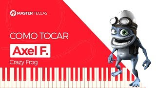 Скачать Axel F Crazy Frog Piano Tutorial Master Teclas