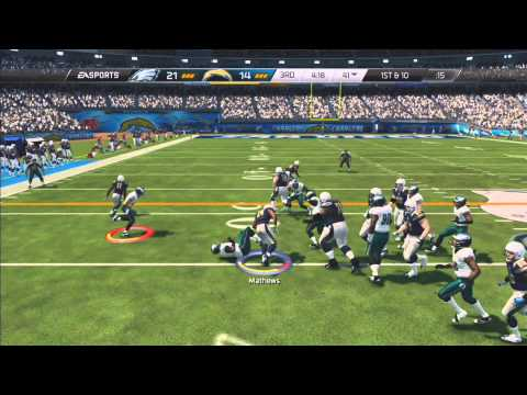 Epic Madden 25 Online Ranked Match - Chargers vs. Eagles (Comeback against a Michael Vick Cheeser)