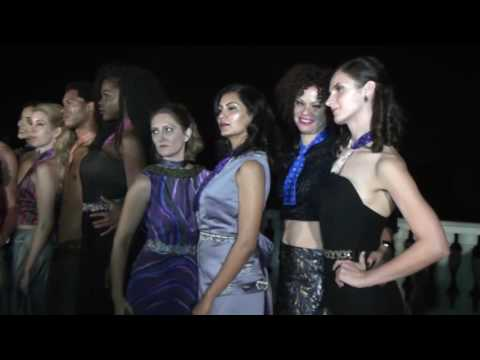 Fashions Show in Fremont Hills Mansion - California Scenes covered