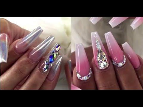 best acrylic nail art designs 2020  cute acrylic nail